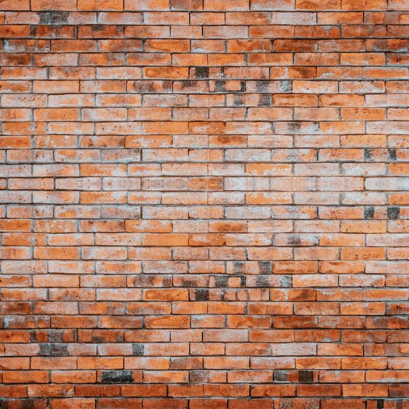 Παλαιός κόκκινος τοίχος τούβλων στοκ φωτογραφία με δικαίωμα ελεύθερης χρήσης