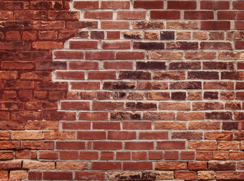 παλαιός κόκκινος τοίχος  στοκ φωτογραφία με δικαίωμα ελεύθερης χρήσης