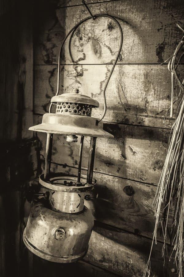 Παλαιός λαμπτήρας σιταποθηκών στοκ εικόνα με δικαίωμα ελεύθερης χρήσης