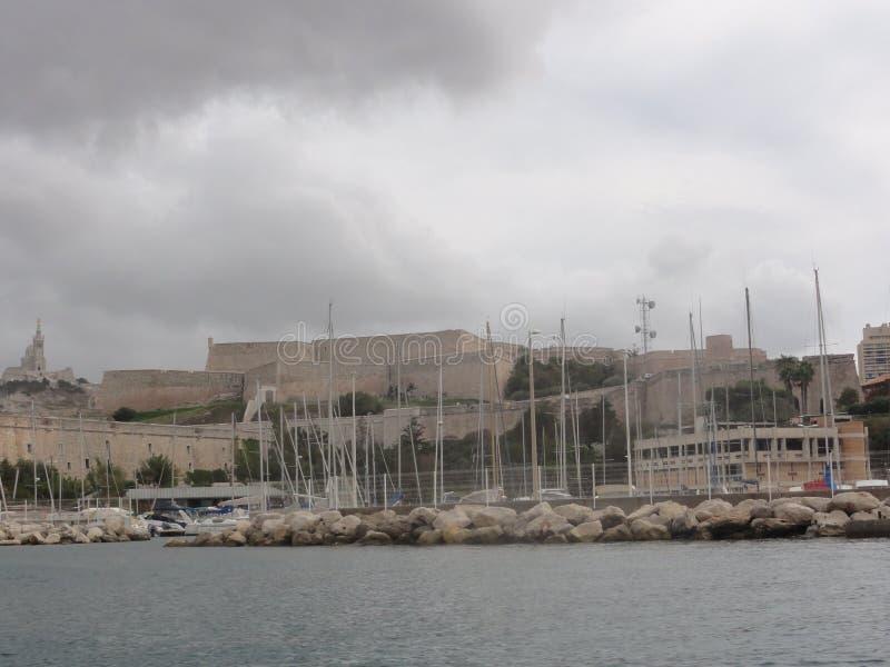 Παλαιός λιμένας της Μασσαλίας - της Γαλλίας στοκ φωτογραφία με δικαίωμα ελεύθερης χρήσης