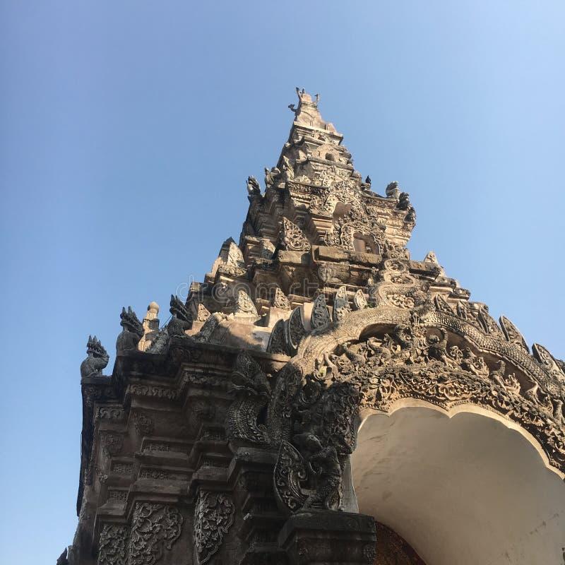 Παλαιός ναός Lumpang στοκ φωτογραφίες με δικαίωμα ελεύθερης χρήσης
