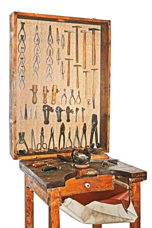 Παλαιός πίνακας εργαστηρίων στοκ εικόνα με δικαίωμα ελεύθερης χρήσης