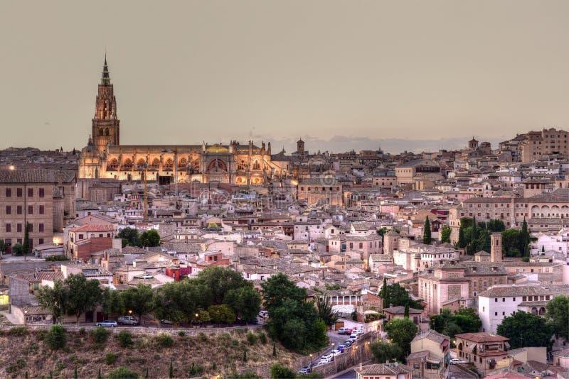 Παλαιός πόλης ορίζοντας του Τολέδο στοκ φωτογραφία με δικαίωμα ελεύθερης χρήσης