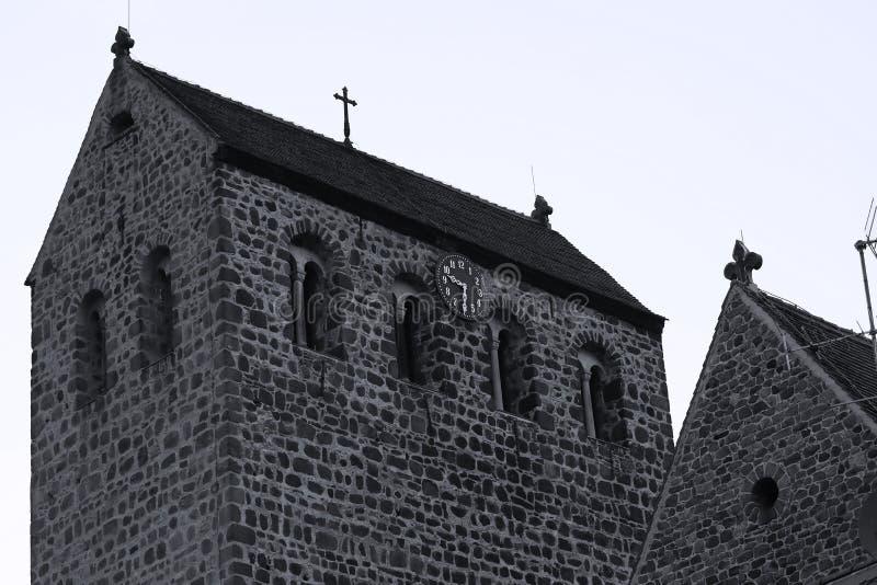 Παλαιός πύργος σε Ziesar, Γερμανία, ορόσημο στοκ φωτογραφία με δικαίωμα ελεύθερης χρήσης