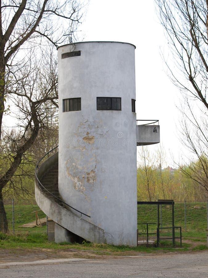 παλαιός πύργος waterwork στοκ φωτογραφία με δικαίωμα ελεύθερης χρήσης