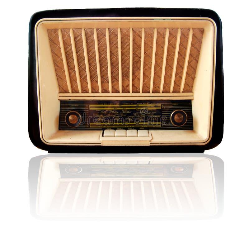 παλαιός ραδιο αναδρομι&kap στοκ εικόνες