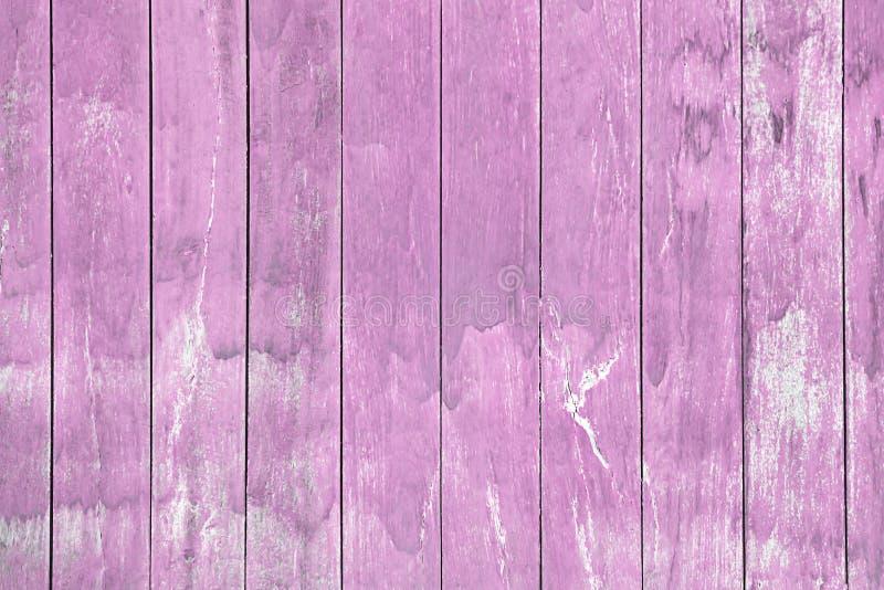 Παλαιός ρόδινος τοίχος σκληρού ξύλου για το υπόβαθρο διανυσματική απεικόνιση