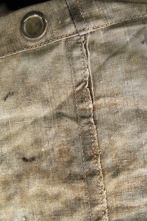 Παλαιός σάκος cnavas ως ανασκόπηση στοκ φωτογραφίες με δικαίωμα ελεύθερης χρήσης