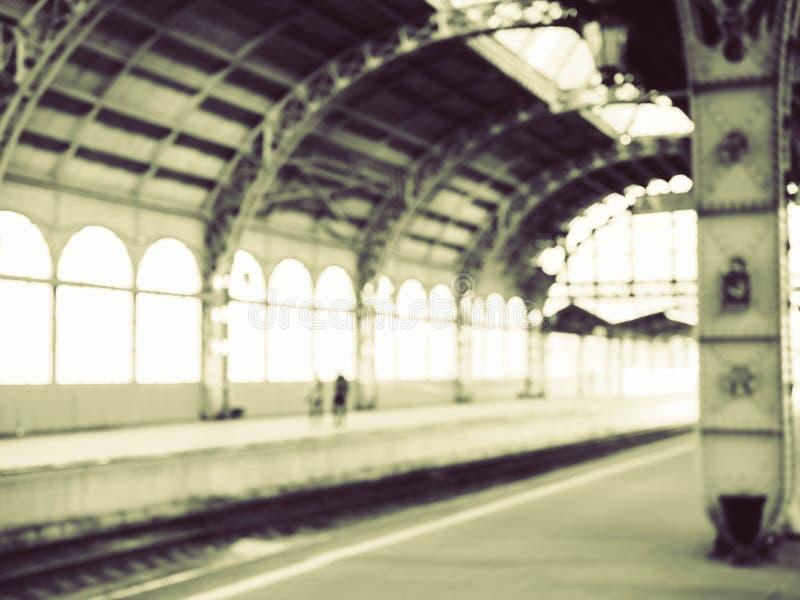 Παλαιός σιδηροδρομικός σταθμός στοκ εικόνα με δικαίωμα ελεύθερης χρήσης