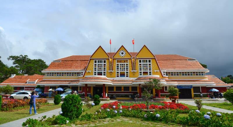 Παλαιός σιδηροδρομικός σταθμός σε Dalat, Βιετνάμ στοκ εικόνες με δικαίωμα ελεύθερης χρήσης