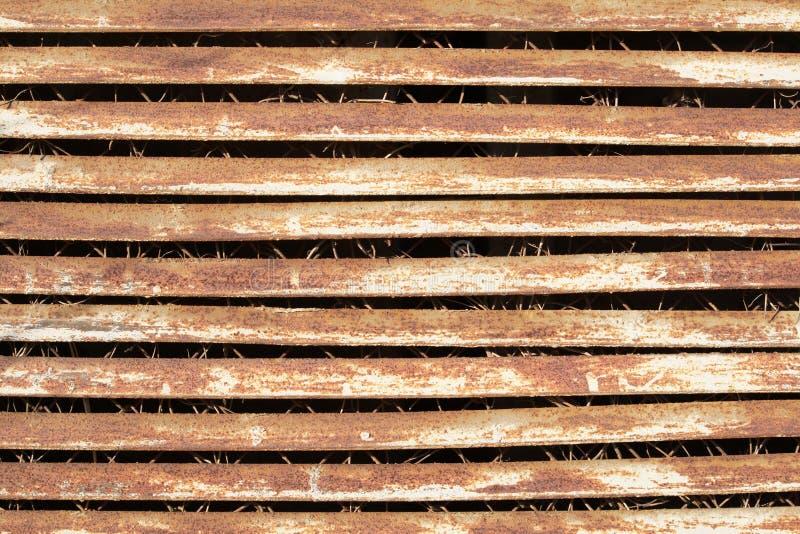 παλαιός σκουριασμένος μ στοκ φωτογραφία