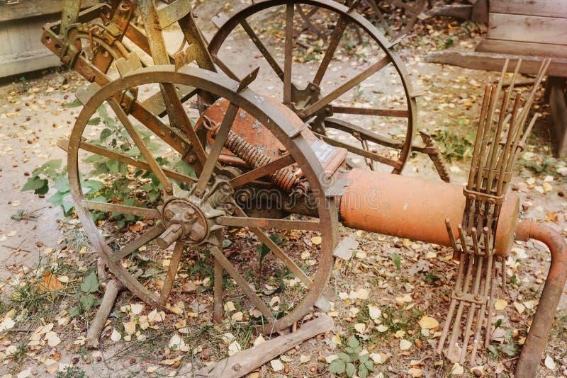 παλαιός σκουριασμένος &alp στοκ εικόνα