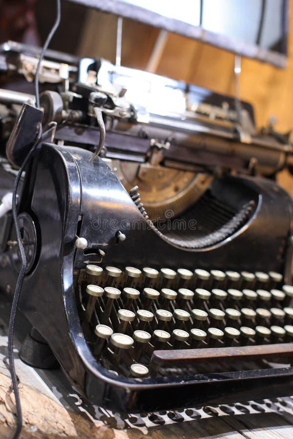 παλαιός συγγραφέας τύπων στοκ εικόνα