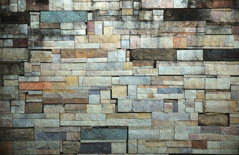 παλαιός τοίχος σύστασης πετρών ανασκόπησης στοκ φωτογραφία