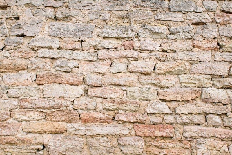 Παλαιός τοίχος των πετρών Σύσταση τοιχοποιιών r στοκ εικόνα με δικαίωμα ελεύθερης χρήσης