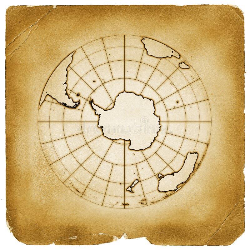 παλαιός τρύγος πλανητών εγγράφου γήινων σφαιρών απεικόνιση αποθεμάτων