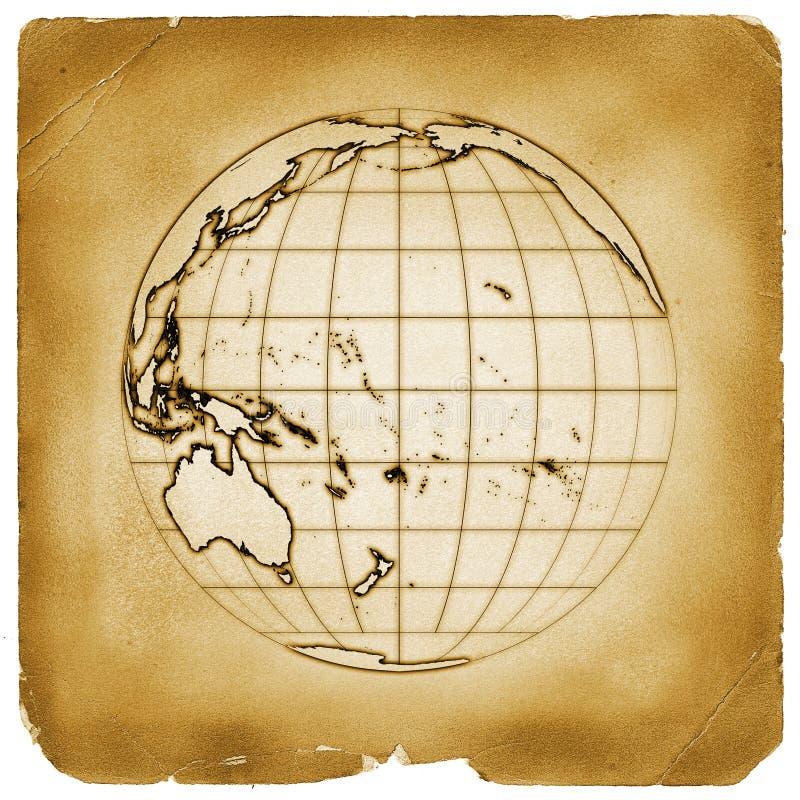 παλαιός τρύγος πλανητών ε&gam διανυσματική απεικόνιση