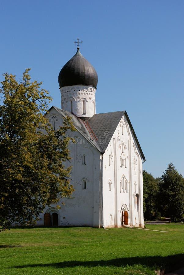 παλαιός velikiy εκκλησιών novgorod στοκ εικόνες