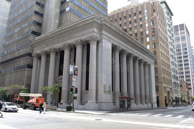 Παλαιότερη Εμπορική τράπεζα Californias η τράπεζα Καλιφόρνιας, 1 στοκ φωτογραφία με δικαίωμα ελεύθερης χρήσης