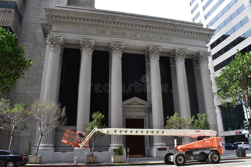 Παλαιότερη Εμπορική τράπεζα Californias η τράπεζα Καλιφόρνιας, 3 στοκ φωτογραφία με δικαίωμα ελεύθερης χρήσης