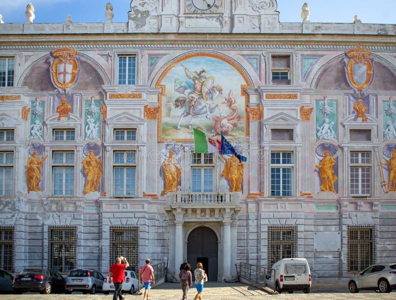 Παλαιότερη ευρωπαϊκή τράπεζα Αγίου George στην Ιταλία στοκ εικόνες