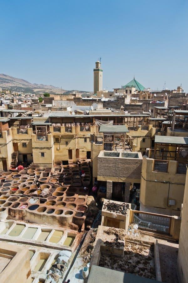 Παλαιότερος φλοιός σε Medina του Fez, Μαρόκο στοκ φωτογραφίες με δικαίωμα ελεύθερης χρήσης