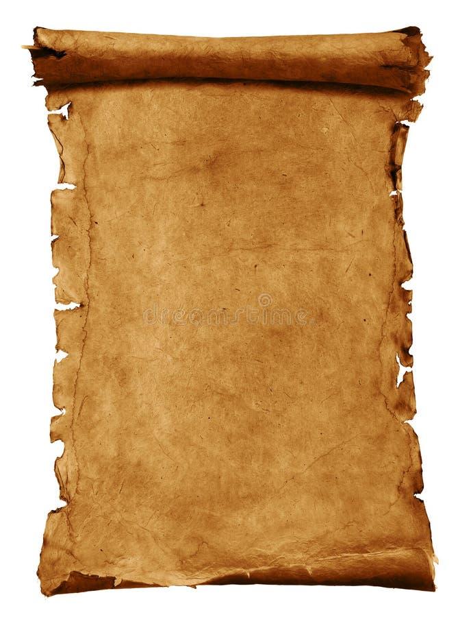 Παλαιό έγγραφο περγαμηνής ελεύθερη απεικόνιση δικαιώματος