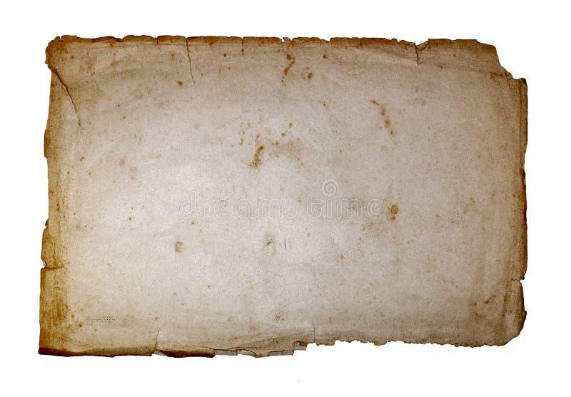 παλαιό έγγραφο στοκ φωτογραφία