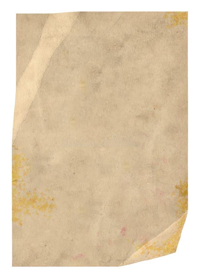 παλαιό έγγραφο στοκ φωτογραφίες με δικαίωμα ελεύθερης χρήσης