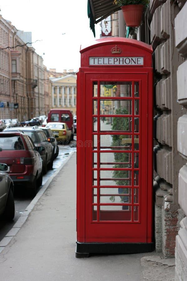 Παλαιό αγγλικό κιβώτιο κλήσης στοκ εικόνες με δικαίωμα ελεύθερης χρήσης