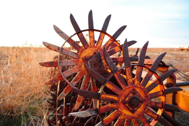 Παλαιό αγροτικό άροτρο στοκ εικόνες με δικαίωμα ελεύθερης χρήσης