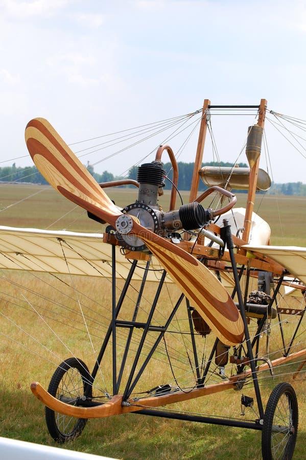 παλαιό αεροπλάνο στοκ εικόνα