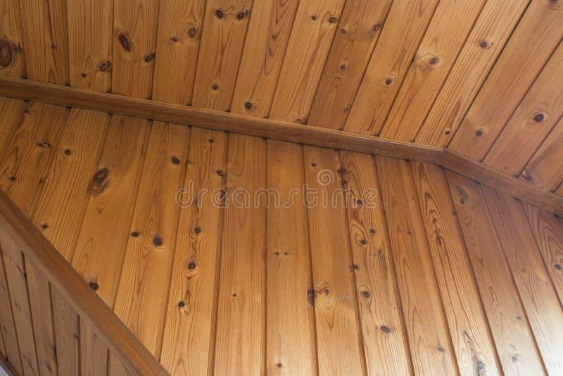Παλαιό ανώτατο καφετί ξύλινο, εκλεκτής ποιότητας σχέδιο ασβεστοκονιάματος και πηχακιών στοκ φωτογραφία με δικαίωμα ελεύθερης χρήσης