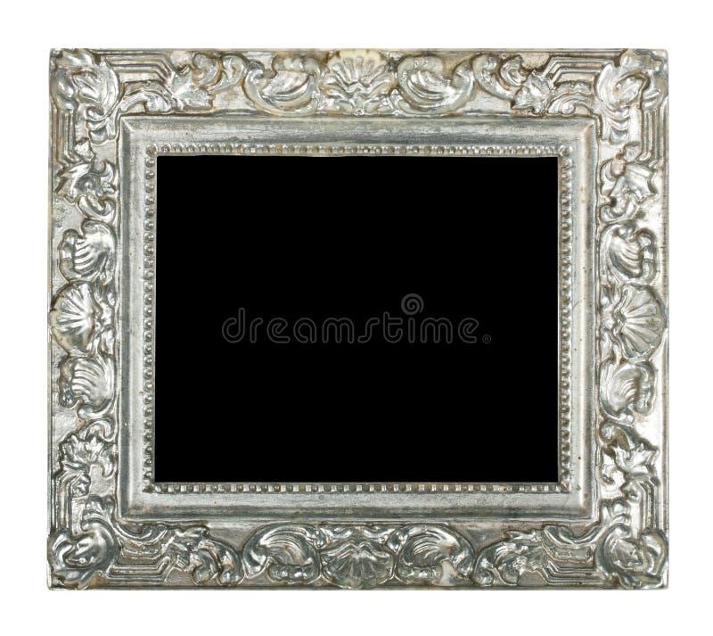 παλαιό ασήμι πλαισίων στοκ φωτογραφίες