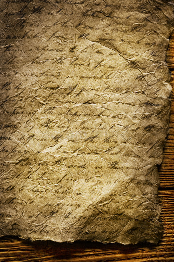 παλαιό γράψιμο εγγράφου στοκ εικόνες
