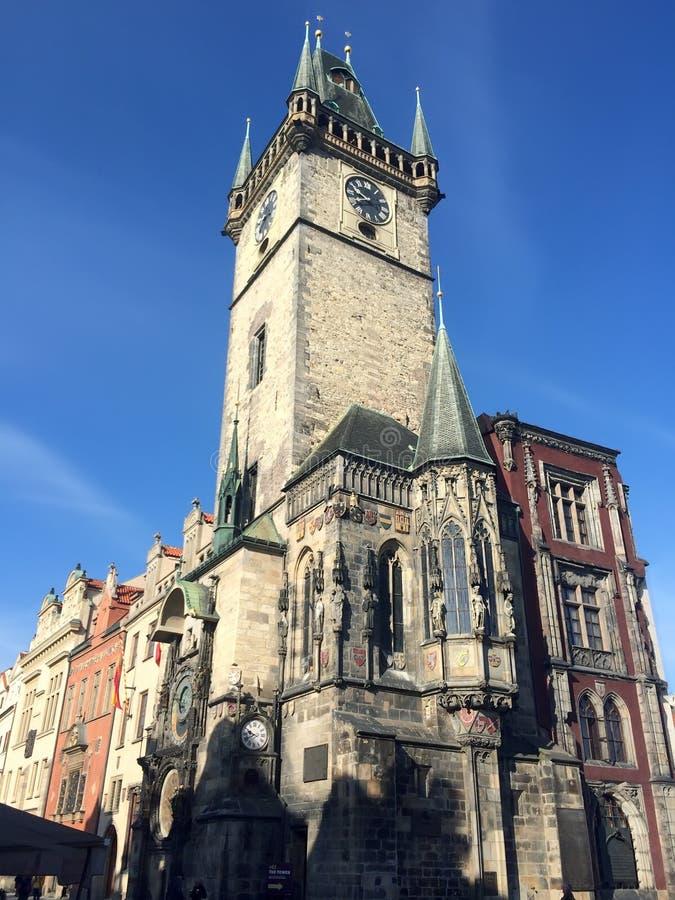 Παλαιό Δημαρχείο, Πράγα, Δημοκρατία της Τσεχίας στοκ φωτογραφία