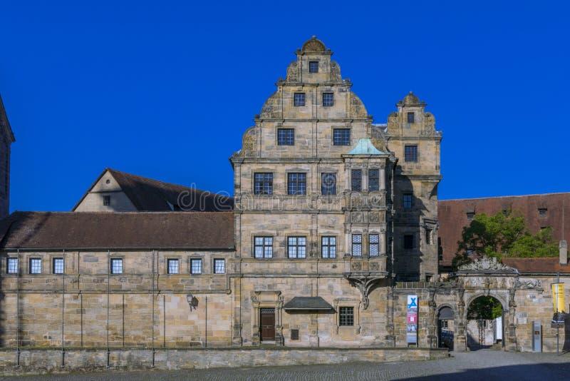 Παλαιό δικαστήριο στη Βαμβέργη, Franconia, Γερμανία στοκ φωτογραφία με δικαίωμα ελεύθερης χρήσης