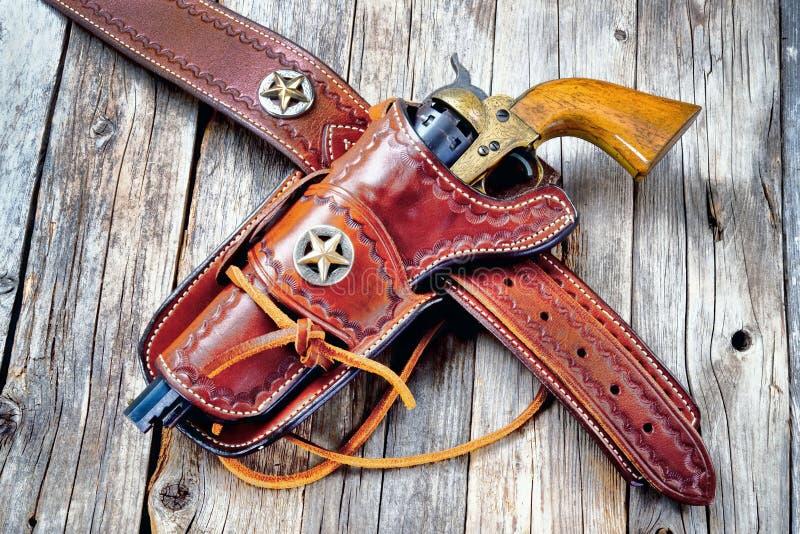 Παλαιό δυτικό πιστόλι κάουμποϋ στοκ φωτογραφίες με δικαίωμα ελεύθερης χρήσης