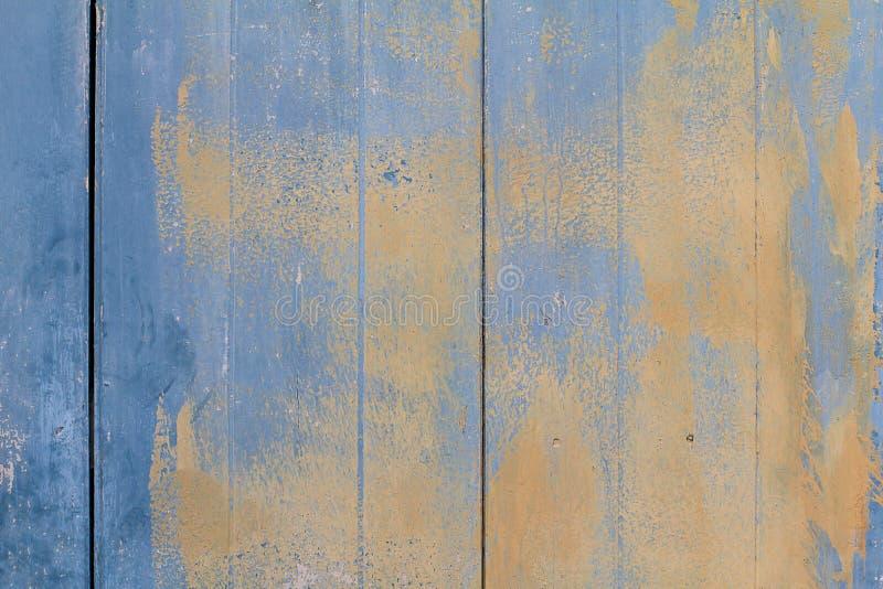 Παλαιό εκλεκτής ποιότητας βρώμικο μπλε ξύλο grunge με το υπόβαθρο σύστασης χρωμάτων αποφλοίωσης στοκ φωτογραφία με δικαίωμα ελεύθερης χρήσης