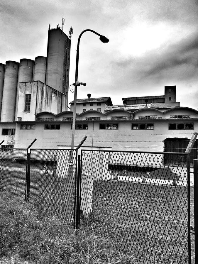 Παλαιό εργοστάσιο στοκ εικόνες