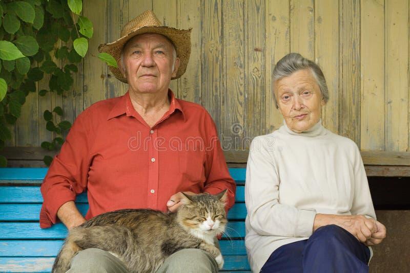 Παλαιό ζεύγος στοκ φωτογραφίες