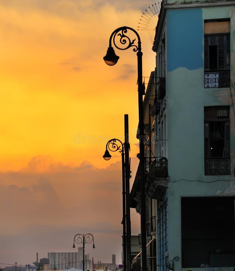 παλαιό ηλιοβασίλεμα της στοκ εικόνα με δικαίωμα ελεύθερης χρήσης