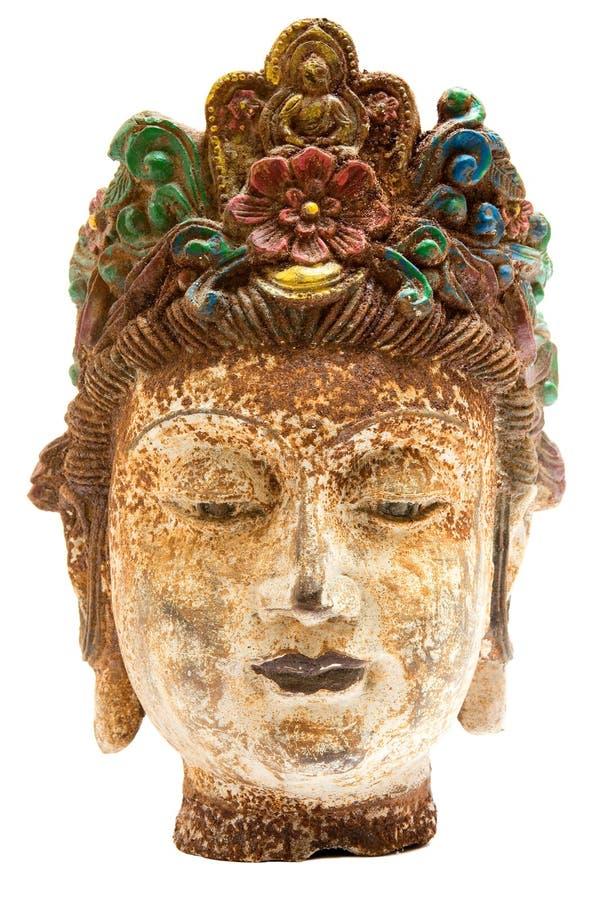 παλαιό θηλυκό κεφάλι στοκ εικόνες