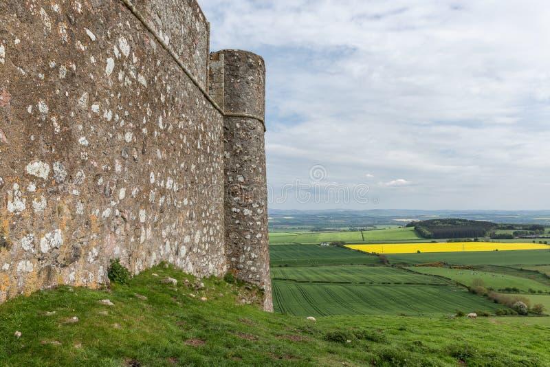 Παλαιό κάστρο καταστροφών στα σκωτσέζικα σύνορα κοντά σε Hume στοκ φωτογραφίες με δικαίωμα ελεύθερης χρήσης