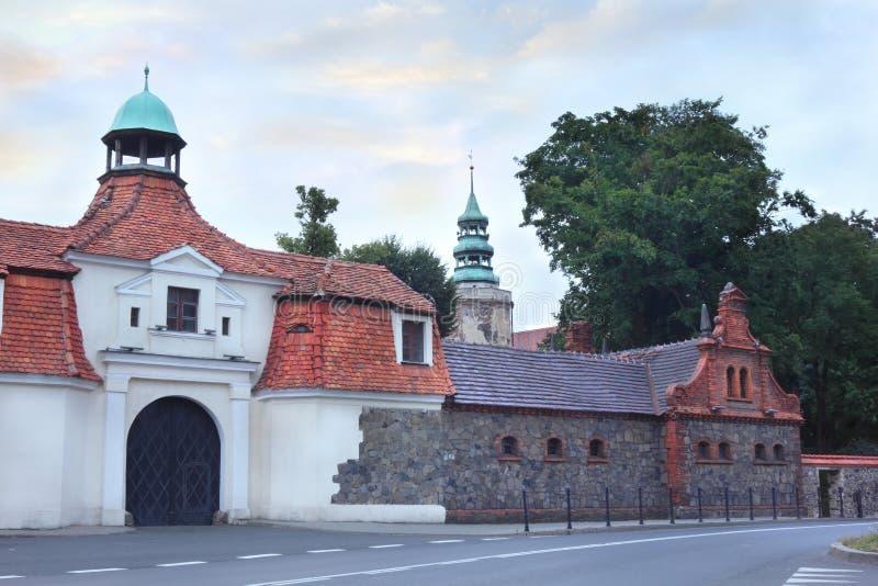 Παλαιό κάστρο σε Niemodlin στοκ εικόνα με δικαίωμα ελεύθερης χρήσης