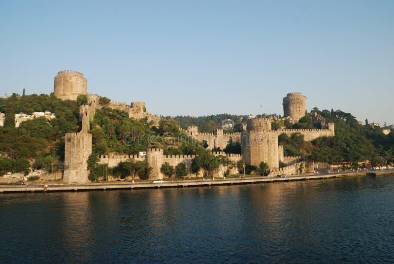 Παλαιό κάστρο στην Κωνσταντινούπολη στοκ εικόνες