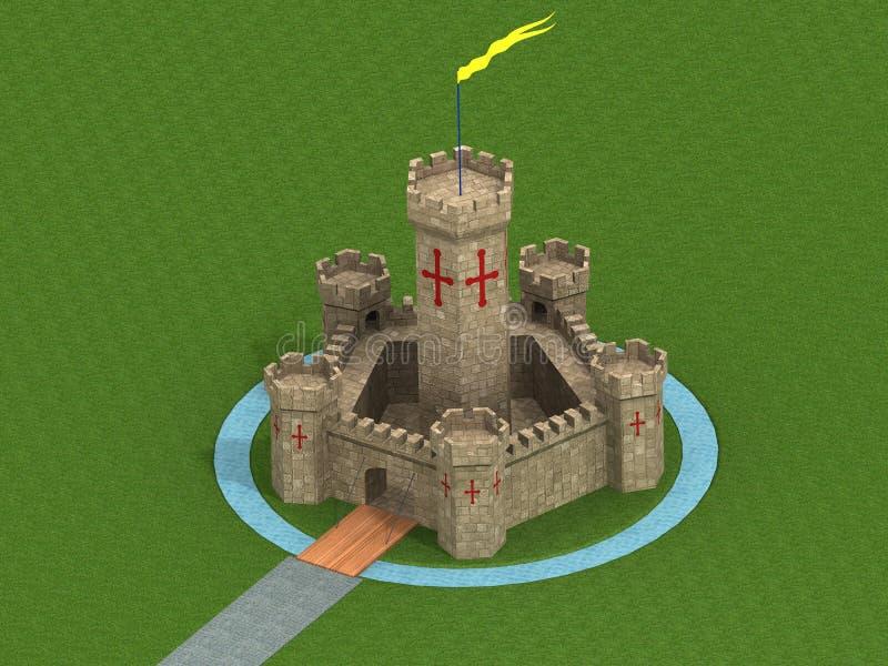 Παλαιό κάστρο απεικόνιση αποθεμάτων
