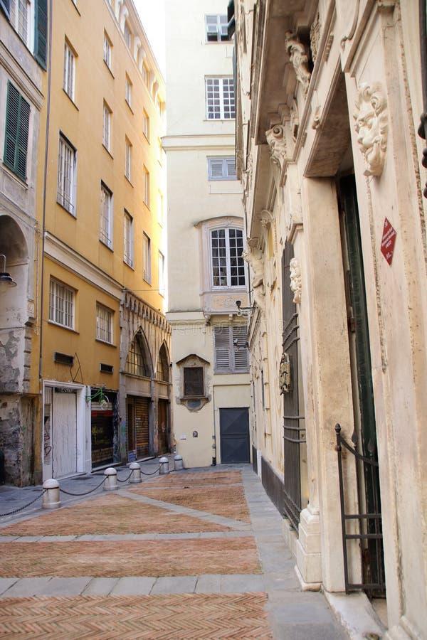 Παλαιό κέντρο της Γένοβας στοκ φωτογραφία με δικαίωμα ελεύθερης χρήσης