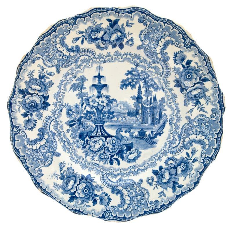 παλαιό κλασσικό πιάτο στοκ εικόνες με δικαίωμα ελεύθερης χρήσης