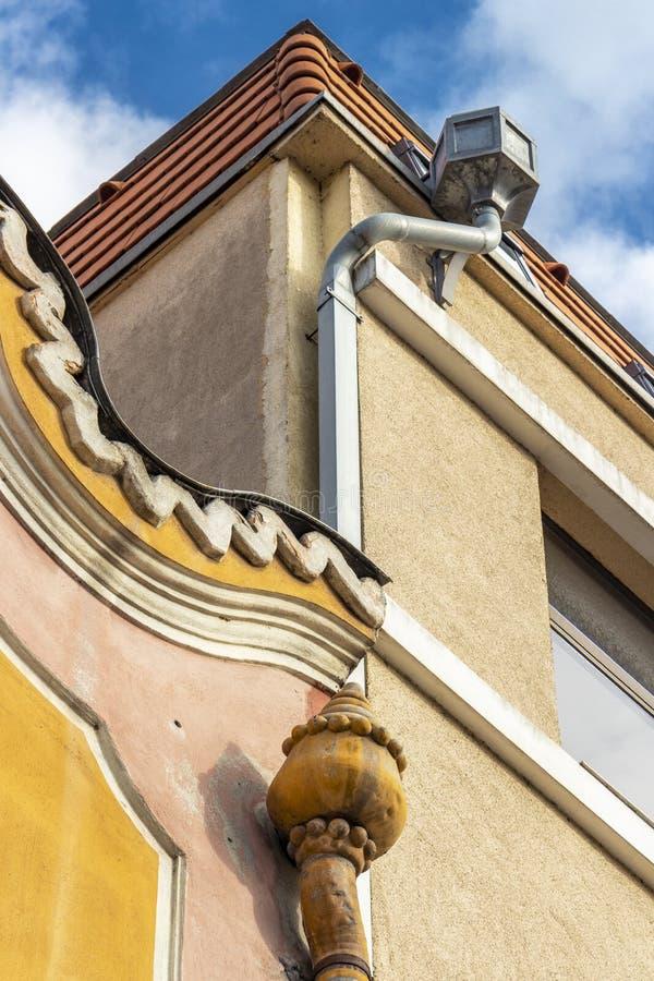 Παλαιό κτήριο σε Targu Mures, κομητεία Mures, Ρουμανία στοκ φωτογραφία με δικαίωμα ελεύθερης χρήσης